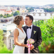 Свадьба в Праге – Оля и Михаил